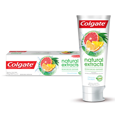 Colgate Naturals Extracts Reinforced Defense Cítricos y Eucalipto